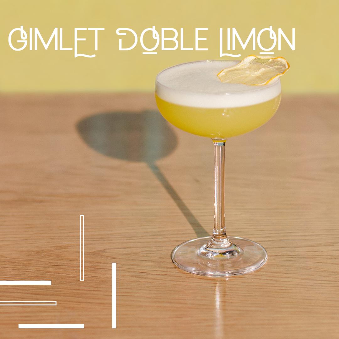 Gimlet Doble Limon