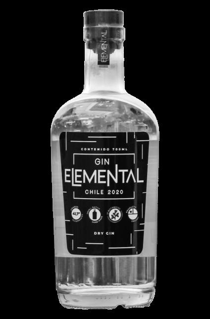 Botella Gin Elemental